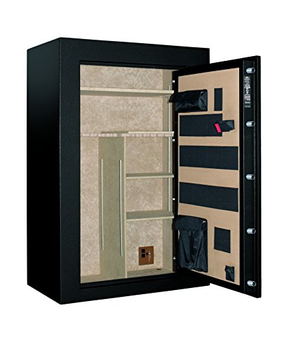 Cannon Safe S33-H1TEC-15 Scout Series Fire Safe with Power Supply, High Security Ul Electronic Lock and Gun Capacity of 48 Guns, Hammertone Gray