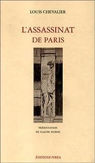 L'assassinat de Paris par Louis Chevalier