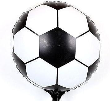 Pelota/globo en papel de aluminio XXL Campeonato de Fútbol 42 cm