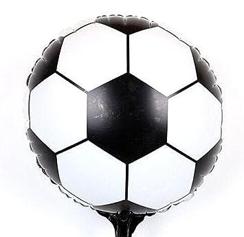 Pelota/globo en papel de aluminio XXL Campeonato de Fútbol 42 cm ...