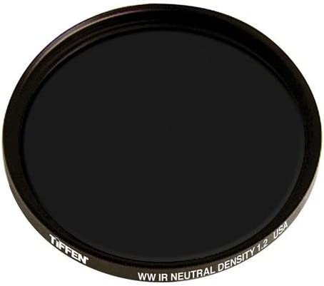 Tiffen W52IRND12 52mm Filter with Combination Neutral Density IR ND 1.2 Infrared Reduces ISO to 1//16