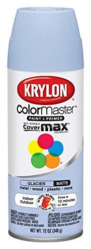 Krylon Colormaster Indoor/Outdoor Aerosol Paint 12 oz Glacier by Krylonの商品画像