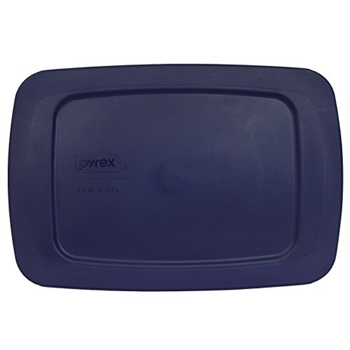 Pyrex Easy Grab - Blue 1.5 Quart Storage Lid Cover for Loaf Dish