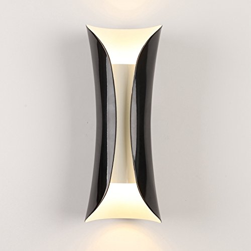LightInTheBox Mini Style Modern/Contemporary Traditional/Classic Wall Lamps & Sconces For Living Room Kitchen Dining Room Entry Game Room Hallway (Black)