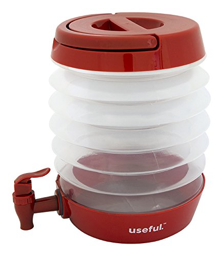 J Miles UH-CB149 100 OZ 3 Liters Collapsible Beverage Dispenser