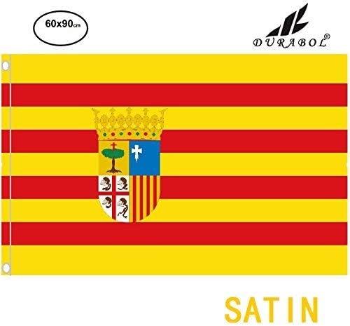 Durabol Bandera de Aragón Comunidades autónomas de España 60 * 90 ...