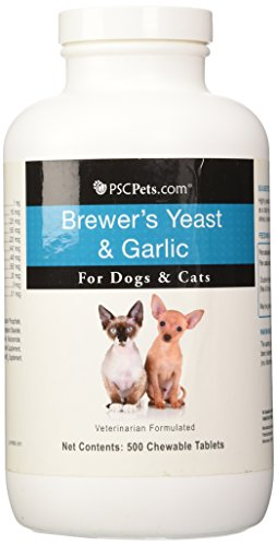 Brewer's Yeast and Garlic Chewable Tablets for Dogs and Cats