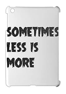 sometimes less is more iPad mini - iPad mini 2 plastic case