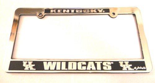 Jenkins Enterprises Kentucky Wildcats Silver & Black Auto License Frame