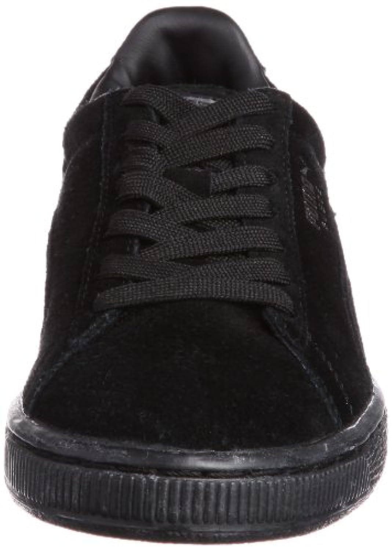 Puma Suede Classic+, Unisex Adults' Low-Top Sneakers, Black, 3.5 UK (36 EU)