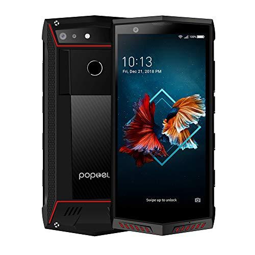 Rugged Smartphone Unlocked, POPTEL P60 Unlocked Cell Phone 4G Android8.1,6GB/128GB, 5.7inch 2K Display, 5000mAh Dual SIM…