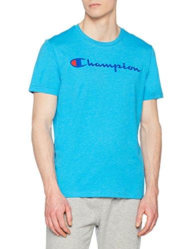 shirt zbda Blu Uomo T T shirt Champion Crewneck OwqaA46