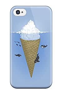 Protection Case For Iphone 4/4s / Case Cover For Iphone(very Funny At Sea Desktop)