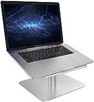 """Support Ordinateurs Portable, Lamicall Support Macbook : Universel Support Dock pour Apple MacBook, MacBook Air, MacBook Pro, Dell XPS, HP, Samsung, Lenovo and et autres Ordinateurs Portables 10""""~17"""" - Argenté"""