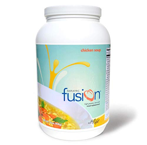 Bariatric Fusion Meal Replacement Protein 21 Serving Tub Chicken Soup for Bariatric Surgery Patients Including Gastric Bypass & Sleeve Gastrectomy