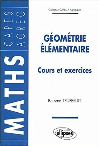 Livre gratuits Géométrie élémentaire pdf, epub ebook