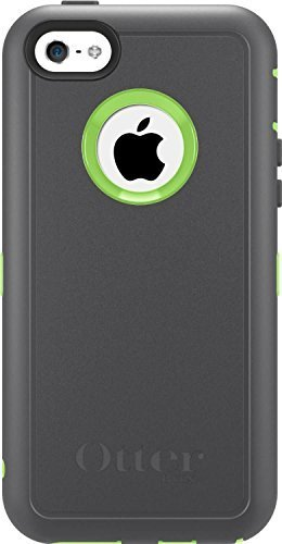 Otterbox-with-Holster-Clip-for-Iphone-5c-Only-Retail-Packaging-Grayglow-Green-By-Otterbox