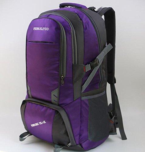 80litros bolsa de hombro hombres gran capacidad impermeable mochila grande viaje paquete bolsa de viaje hembra al aire libre ocio mochilas