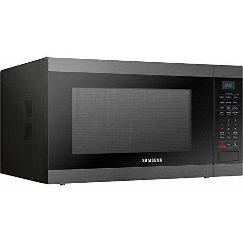 Samsung MS19M8020TG 1.9 Cu. Ft. Black Stainless Countertop Microwave for Built-In Application MS19M8020TG/AA by Samsung (Image #1)