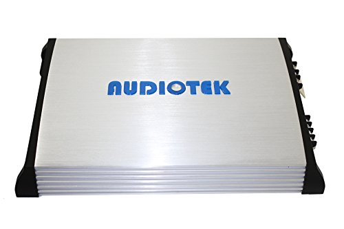 Audiotek At840S 2 Channels Class Ab 2 Ohm Stable 2400W Stereo Power Car Amplifier W/ Bass Control by Audiotek (Image #5)'