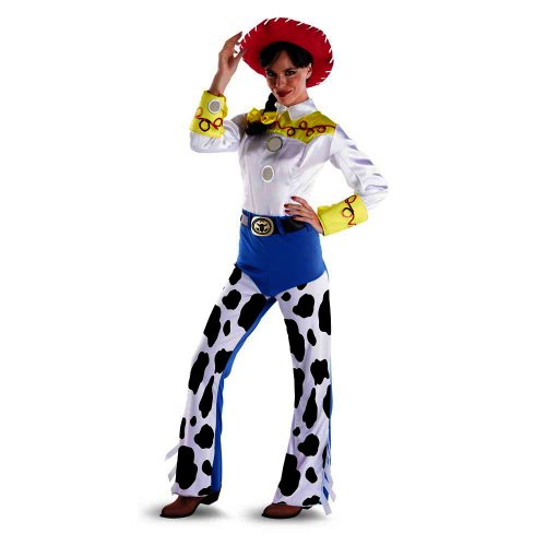 50551Ladies Medium 8-10) Ladies Jessie (Woody And Jessie Costumes For Adults)