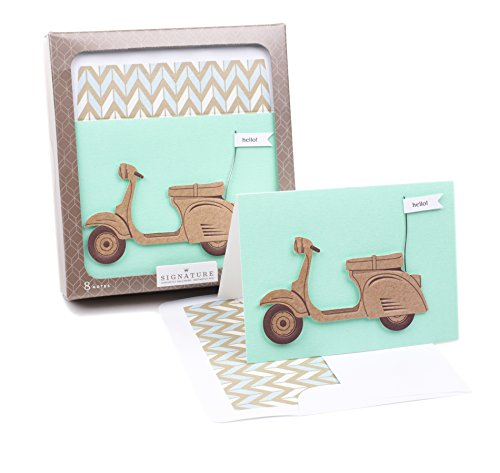 (Hallmark Signature Blank Cards (Scooter, 8 Cards with Envelopes))