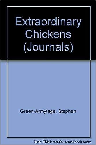 extraordinary chickens spiral bound blank journal