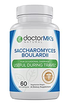 Saccharomyces Boulardii by Doctor MK's®, Helps with Travelers Diarrhea, IBS, C Diff, H Pylori Infection, 60 Vegetarian Capsules