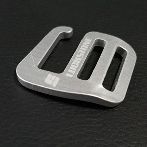 10 Pcs Metal G Hook Webbing Buckle for Backpack Straps Webbing 10//20mm Red