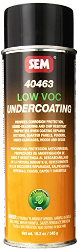 SEM 40463 Low VOC Undercoating Aerosol - 19.2 ()