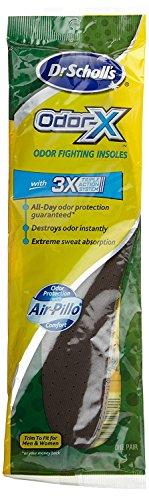 Dr Scholls Odor Destroyers (Dr. Scholls Odor-X Insoles (3 Pack))