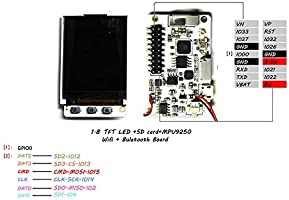 WINGONEER TS v1 4 ESP32 1 8 inch TFT Screen MicroSD Card