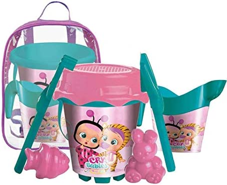 Beb/és Llorones Mochila Cubo Castillo Mondo 25214059