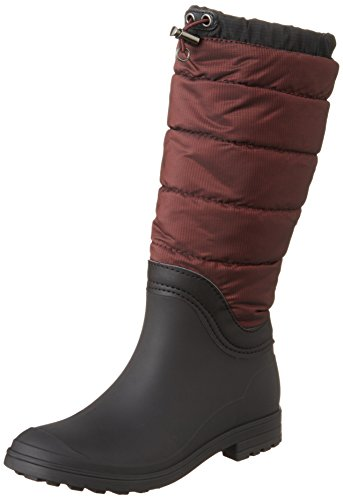 Kamik Kvinna Leeds Isolerade Regn Boot Vinröd