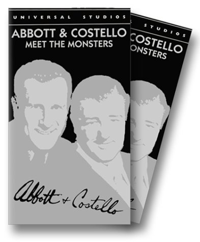 Abbott & Costello Meet the Monsters Collection [VHS]