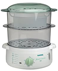 T-FAL's Steam Cuisine 700 features a 7 qt. food capacity with 2 bowls sizes 4 qt. & 3 qt. A 1 Qt. rice bowl makes cooking rice fun and easy Cook nutritious dishes without using any added fats, thus reducing calories and preserving vitamin...