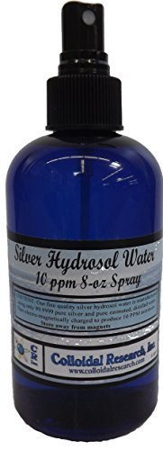 Silver Hydrosol Water 8 Ounce Spray