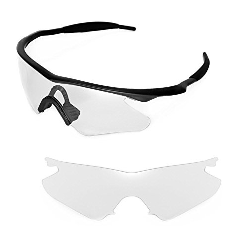 Walleva Replacement Lenses for Oakley M Frame Heater Sunglasses - Multiple Options Available - Replacement Lenses Oakley M Frame