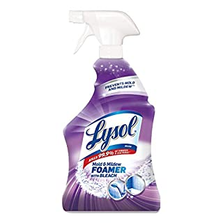 LYSOL 78915EA Mold & Mildew Remover with Bleach, Ready to Use, 32oz Spray Bottle