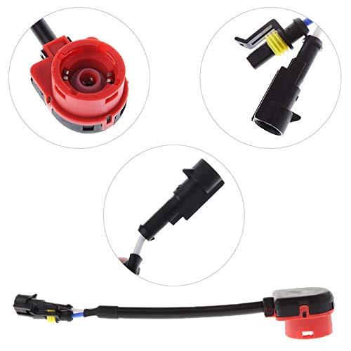 - Felix-Box - Car D2S Socket HID Bulb Socket Adapter D2S Bulb Connector For Xenon HID Light Automobiles Cables Adapters Sockets