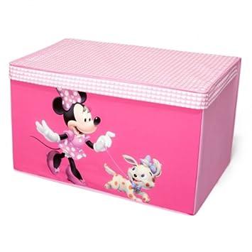 Disney Minnie Mouse Toy Box Canvas Aufbewahrungsbox Spielzeugkiste ...
