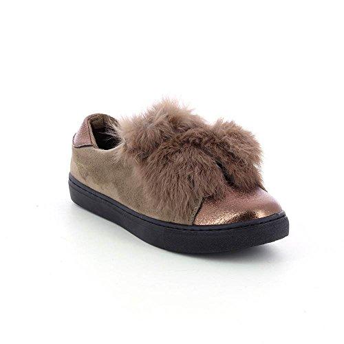 Go Tendance - Zapatillas de Deporte de Material Sintético Mujer marrón