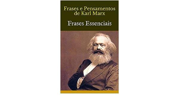 Amazoncom Frases E Pensamentos De Karl Marx Frases