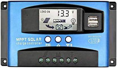 Proglam 30A MPPT Solarladeregler mit LCD-Anzeige, mehreren Laststeuerungsmodi 16 AD Scangenauigkeit 12V / 24V