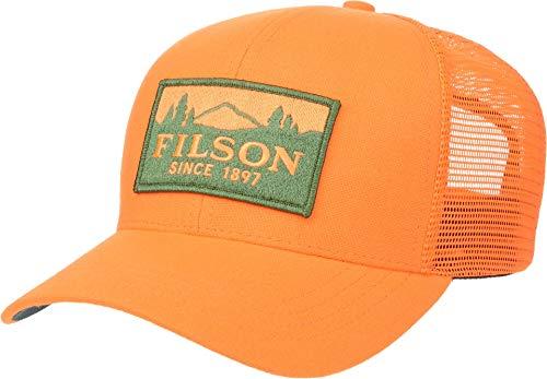 Filson Logger Mesh Cap Blaze Orange One Size