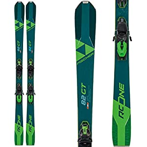 Fischer RC One 82 GT Skis w/RSW 12 GW Bindings Mens