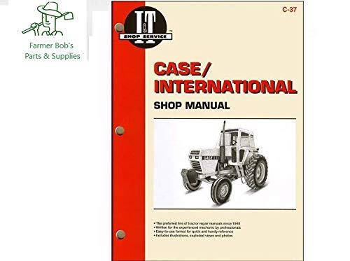 I&T Shop Manual, J.I. CASE & David Brown Series 2090, 2290, 2390, 2590, more Farmer Bob's Parts C37