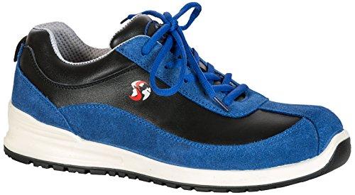 Seba 574CE Langsame Schuh S1P SRC, blau/schwarz, Größe 39