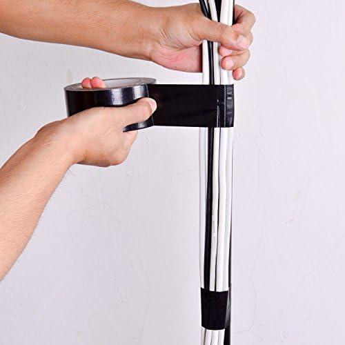 Vancool(50mm X 20m)Profesional Grado Premium Gaffer Cinta(Negro ...