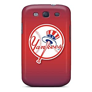 Premium Durable New York Yankees Fashion Tpu Galaxy S3 Protective Cases Covers